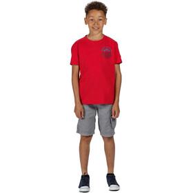 Regatta Bosley III T-Shirt Kids true red